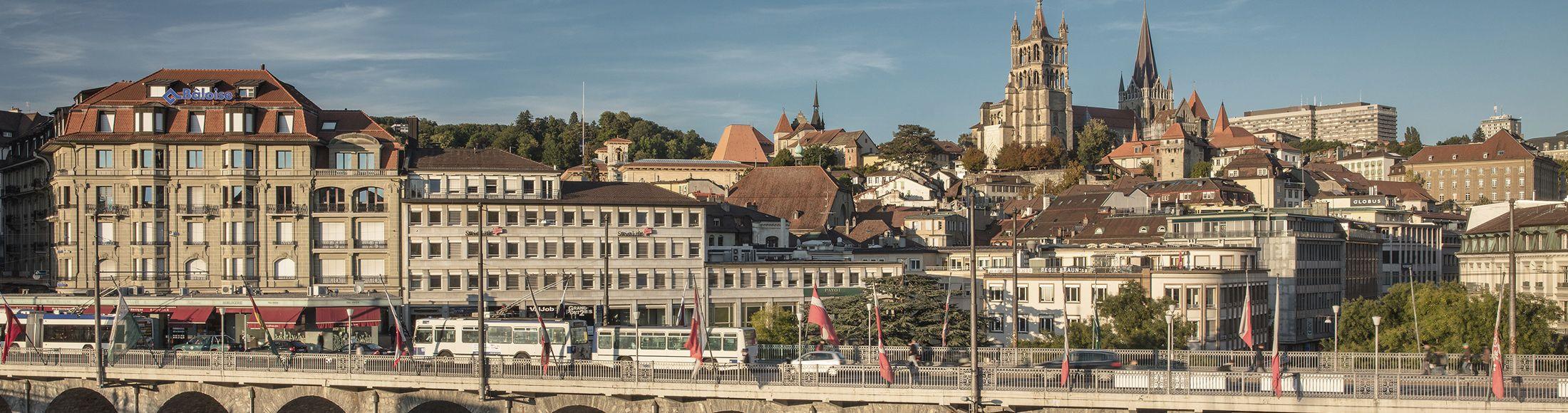 Une fiduciaire au coeur de lausanne, un rayonnement dans toute la suisse romande